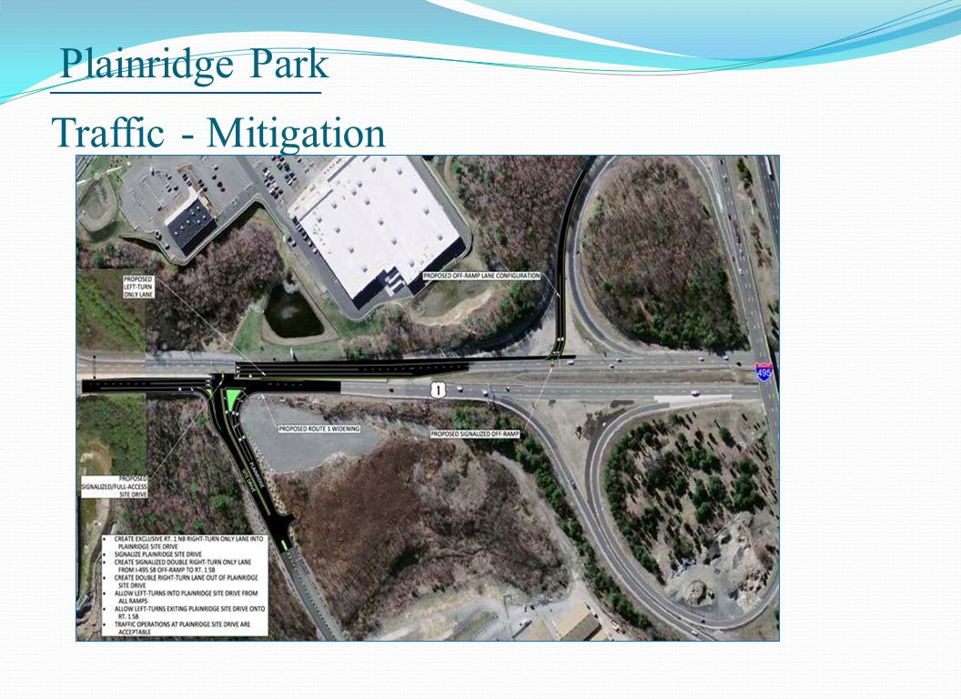 Plainridge Park Traffic - Mitigation