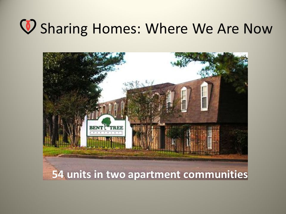 Sharing Homes: Where We Started 6 Midtown Church of Christ Units