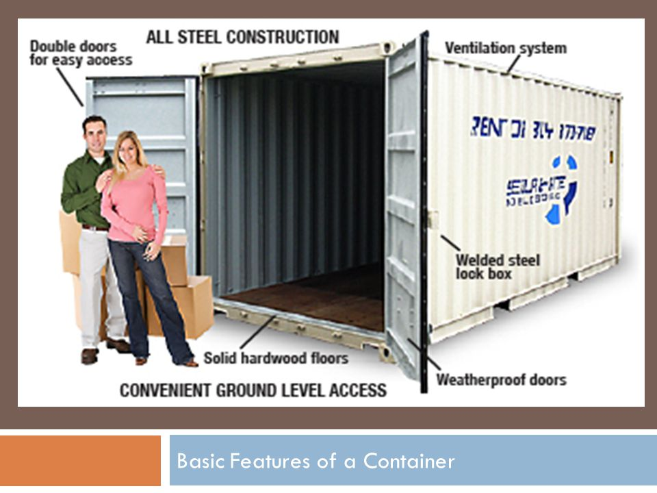Basic Features of a Container