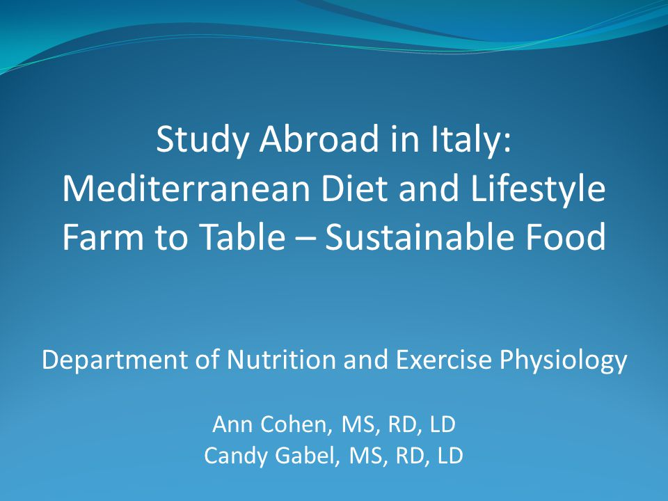 Mediterranean diet and lifestyle Course focus and objectives Apicius – our partner in Florence Experiences in and around Tuscany Apartments Costs and application