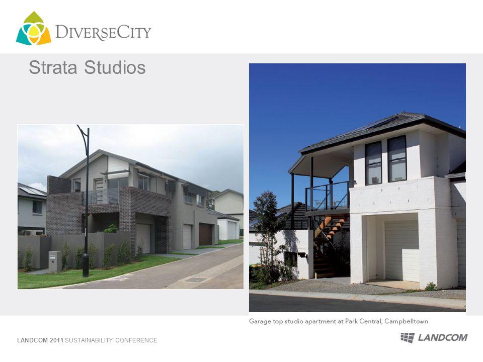 Strata Studios LANDCOM 2011 SUSTAINABILITY CONFERENCE
