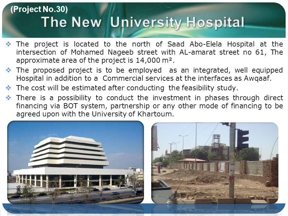 The project is located to the north of Saad Abo-Elela Hospital at the intersection of Mohamed Nageeb street with AL-amarat street no 61, The approximate area of the project is 14,000 m².