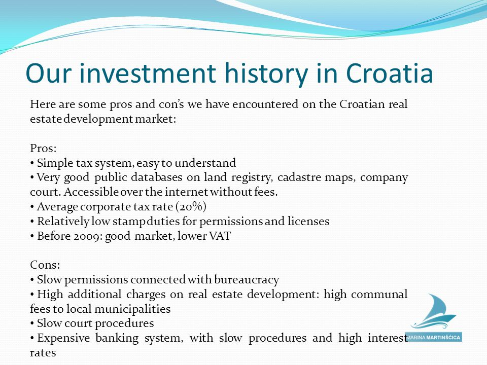 Nautical Tourism - Marinas Already back in the Year 2009 we started to analyze the nautical tourism sector.