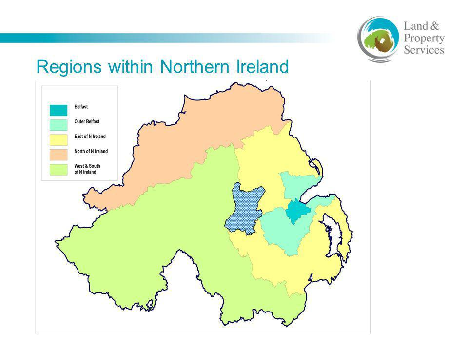 Regions within Northern Ireland