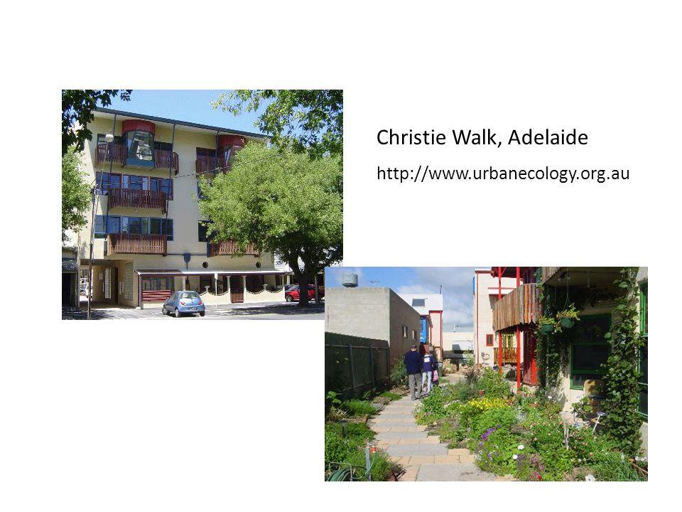 Christie Walk, Adelaide http://www.urbanecology.org.au