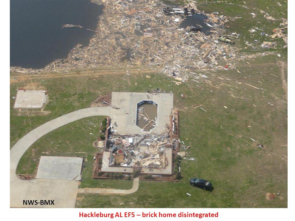 NWS-BMX Hackleburg AL EF5 – brick home disintegrated