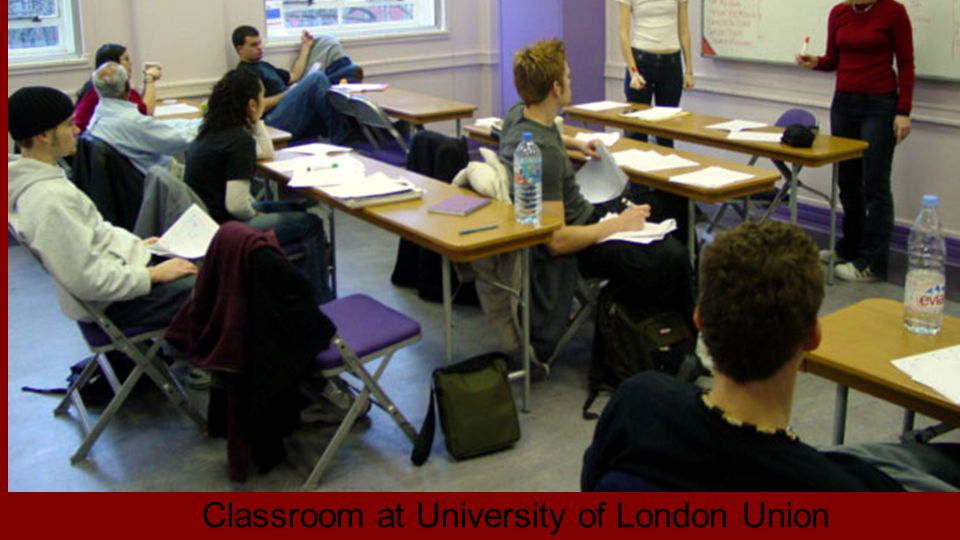 Classroom at University of London Union