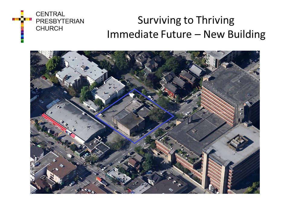Surviving to Thriving Immediate Future – New Building