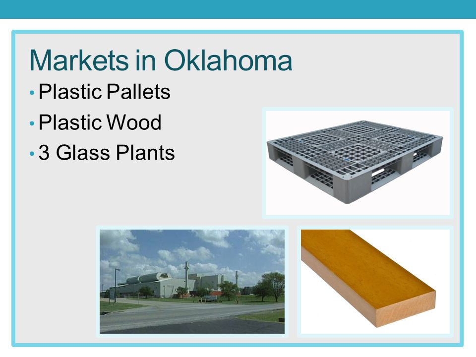 Markets in Oklahoma Plastic Pallets Plastic Wood 3 Glass Plants