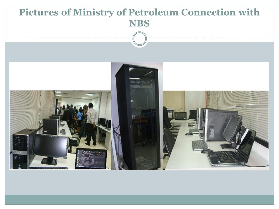 Pictures of Ministry of Petroleum Connection with NBS