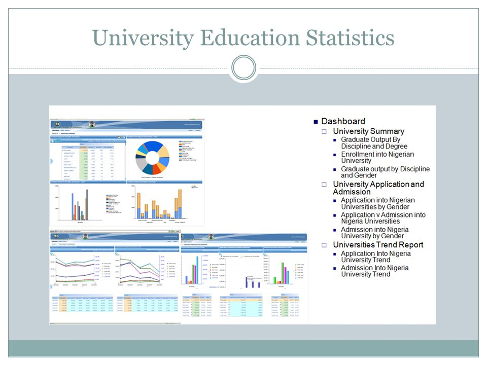 University Education Statistics