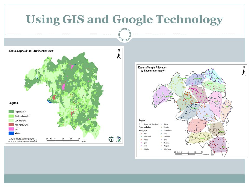 Using GIS and Google Technology