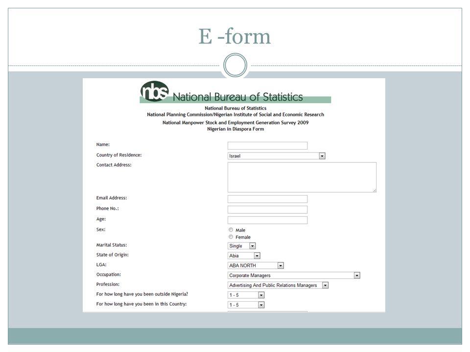 E -form