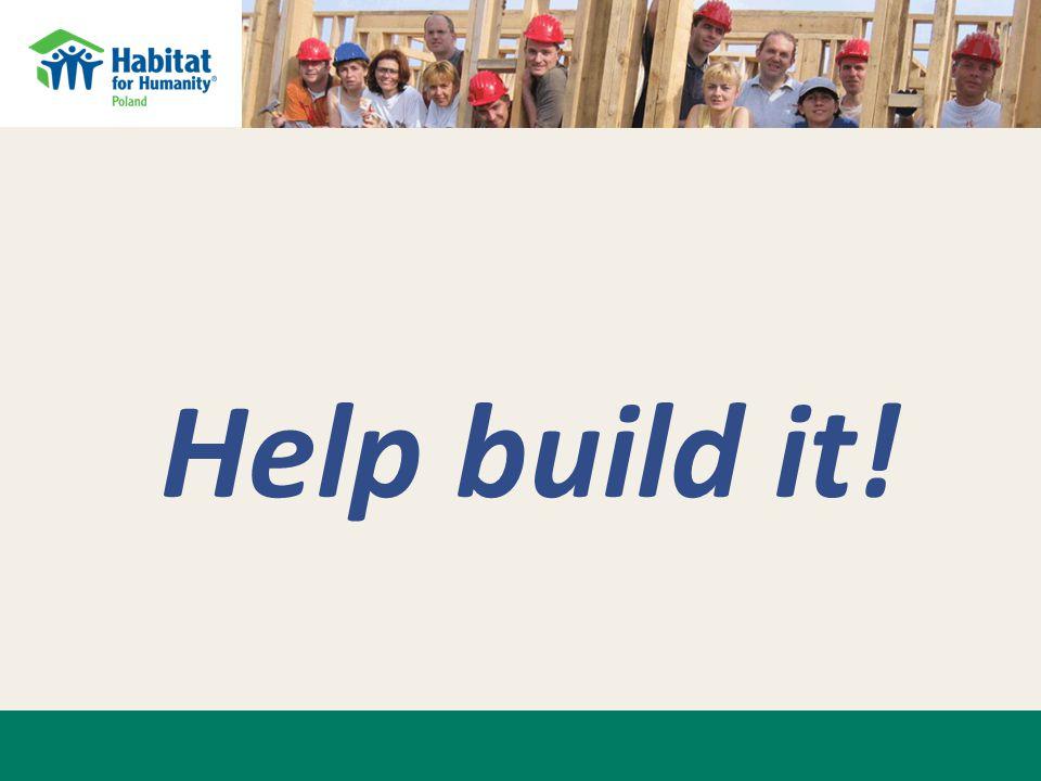 Help build it!