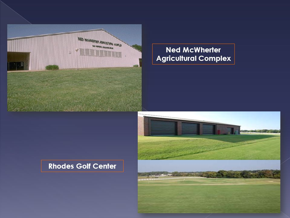 Rhodes Golf Center Ned McWherter Agricultural Complex