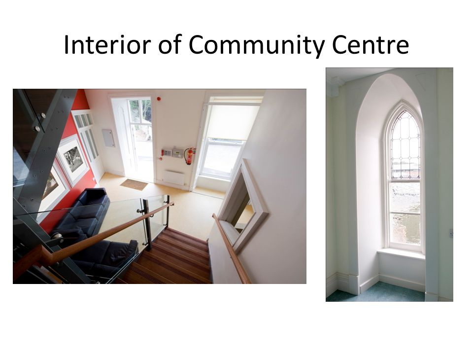Interior of Community Centre