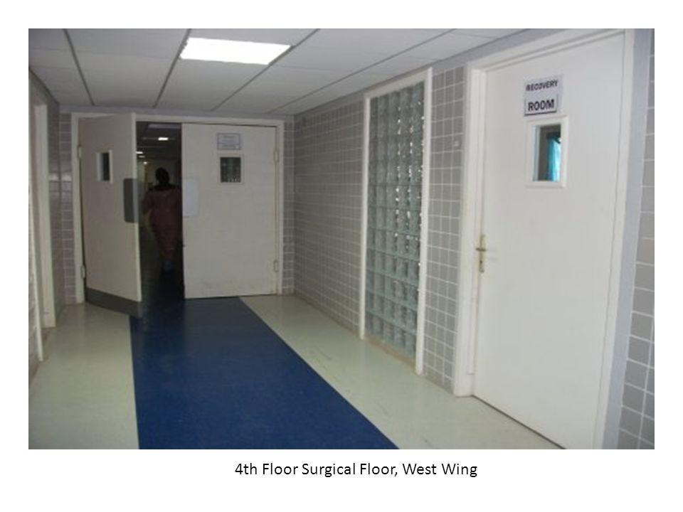 4th Floor Surgical Floor, West Wing