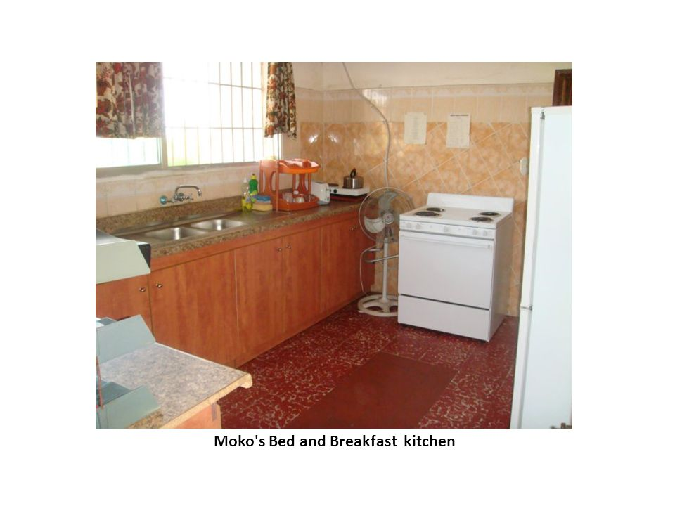 Moko s Bed and Breakfast kitchen