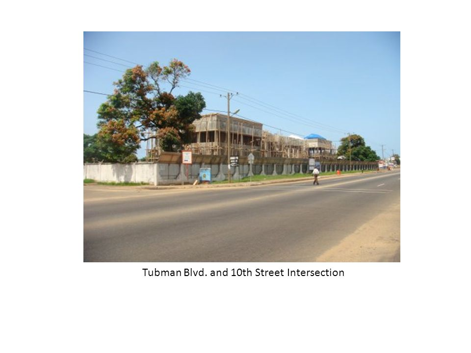 Tubman Blvd. and 10th Street Intersection