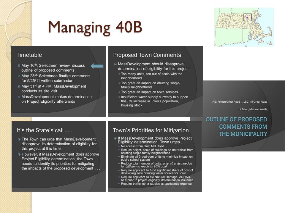 Managing 40B
