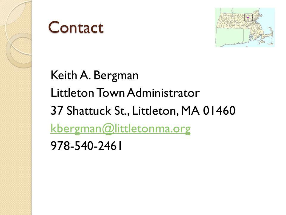 Contact Keith A.