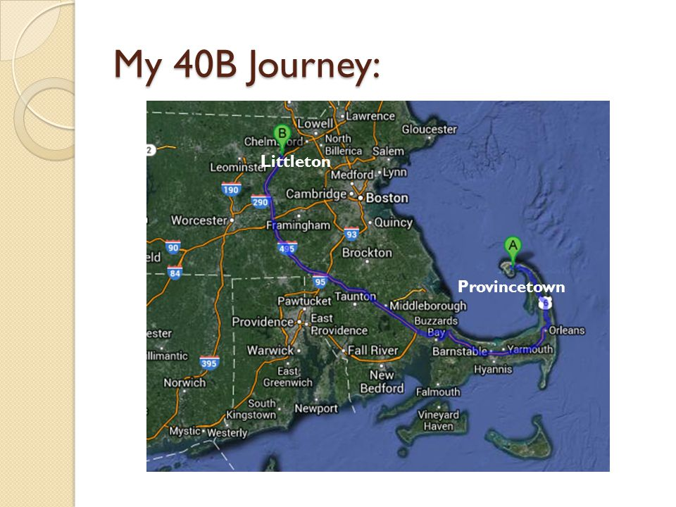 My 40B Journey: Littleton Provincetown