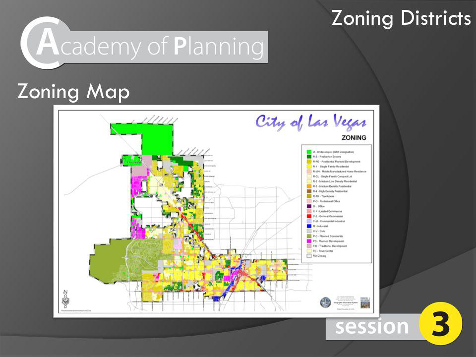 Zoning Map Zoning Districts