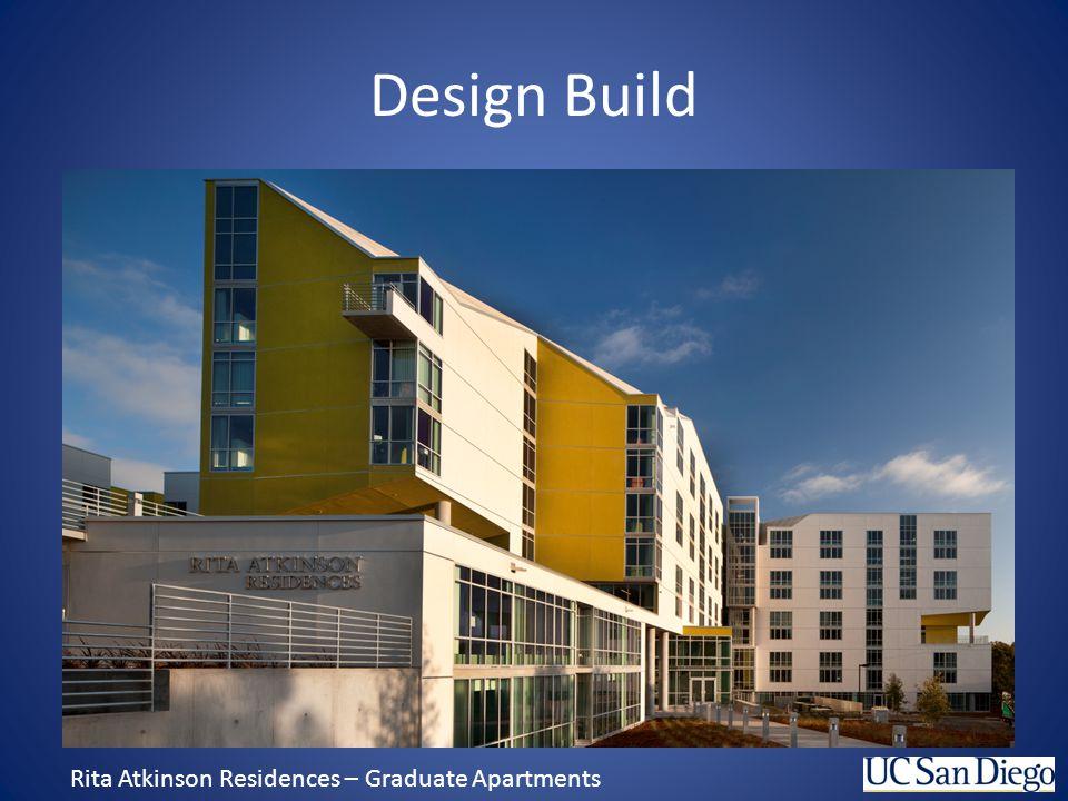 Design Build Rita Atkinson Residences – Graduate Apartments