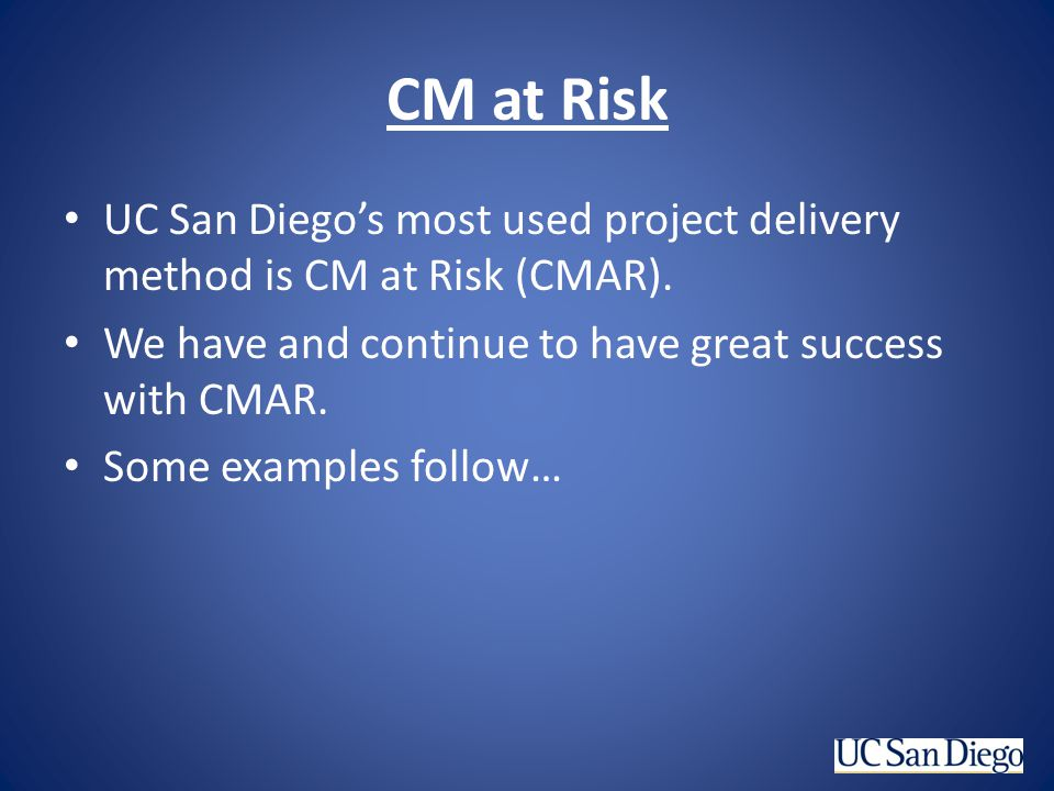 CM at Risk – First CMAR project Eleanor Roosevelt Housing and Dining
