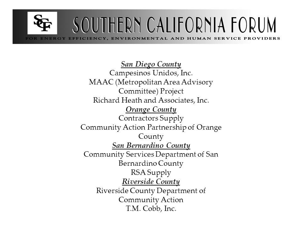 San Diego County Campesinos Unidos, Inc.
