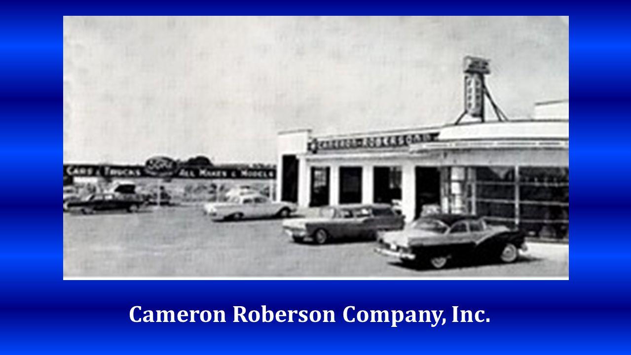 Cameron Roberson Company, Inc.