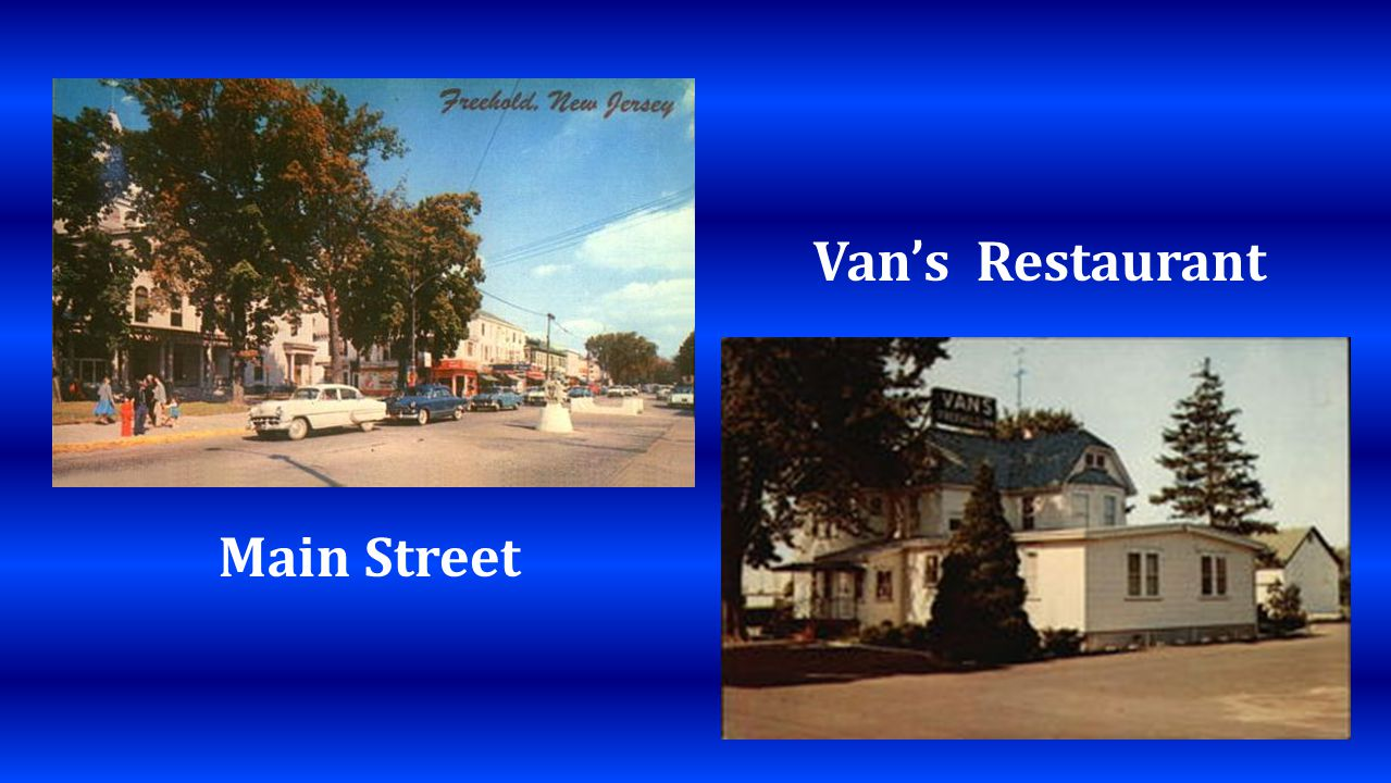 Main Street Vans Restaurant