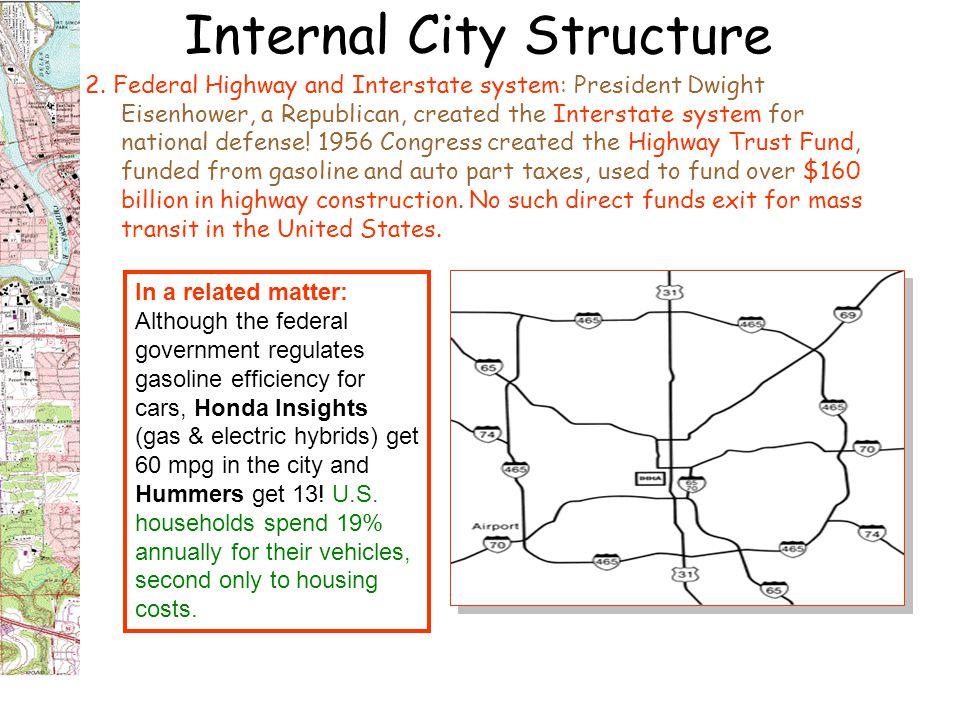 Internal City Structure 2.