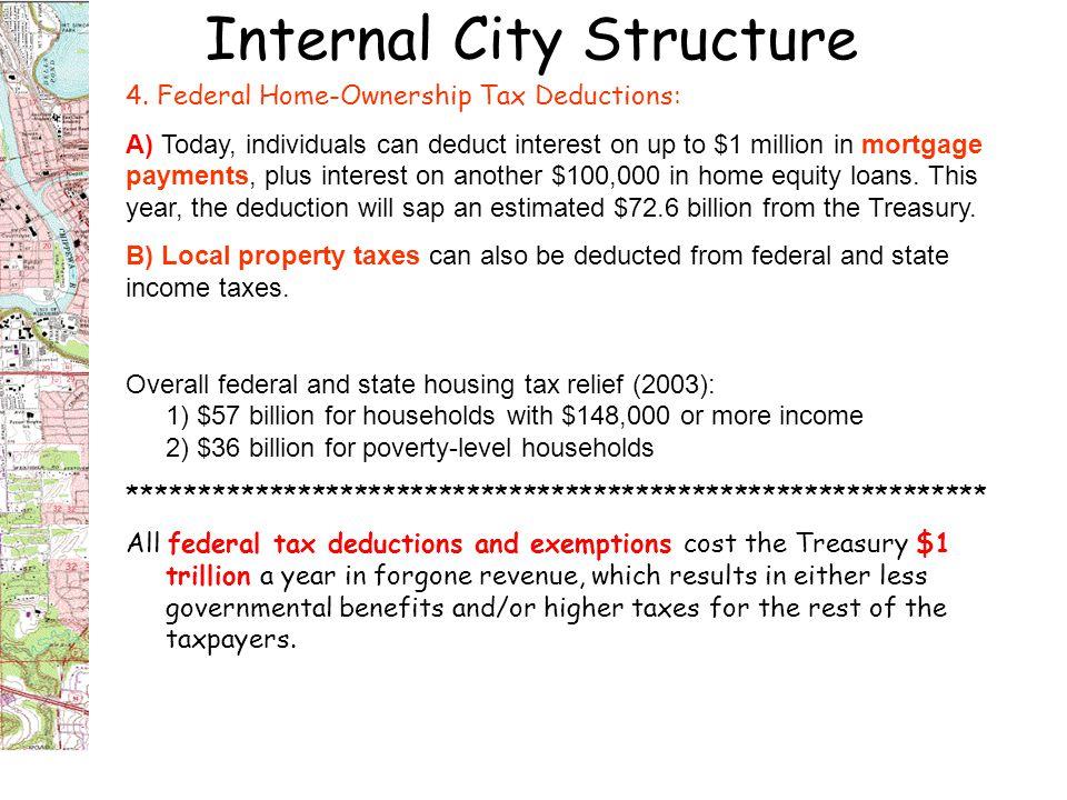 Internal City Structure 4.