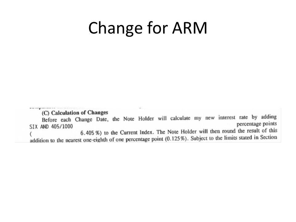Change for ARM