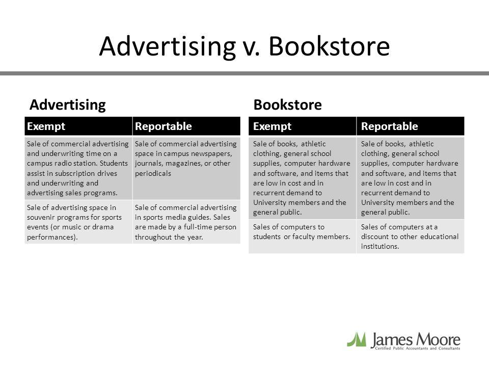 Advertising v.