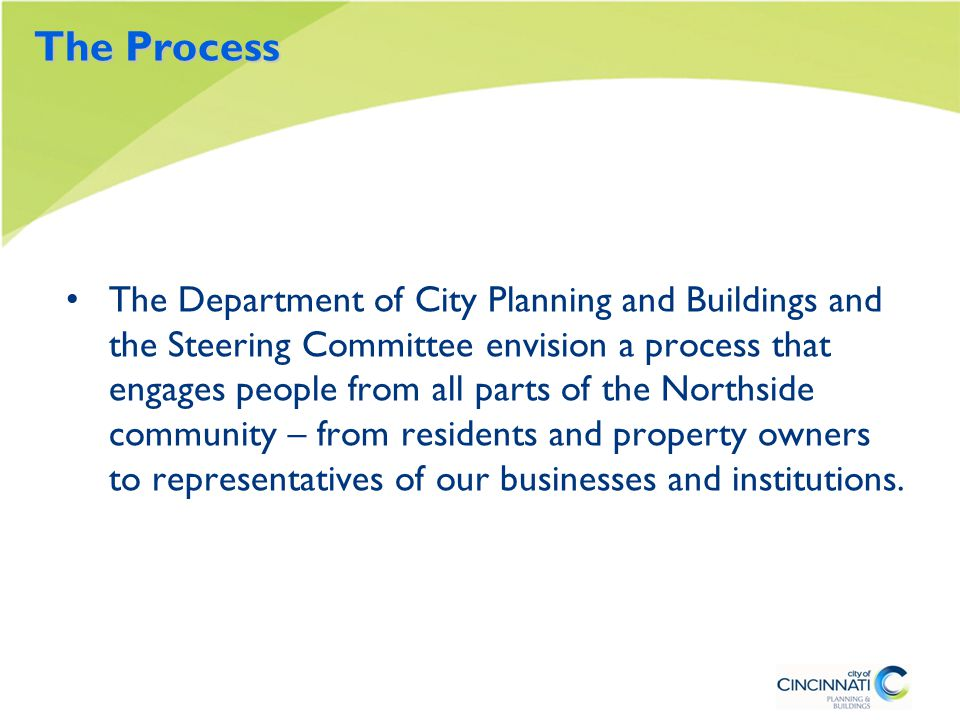 Housing Issues and Opportunities Some of the areas called out in the existing plan have been developed.