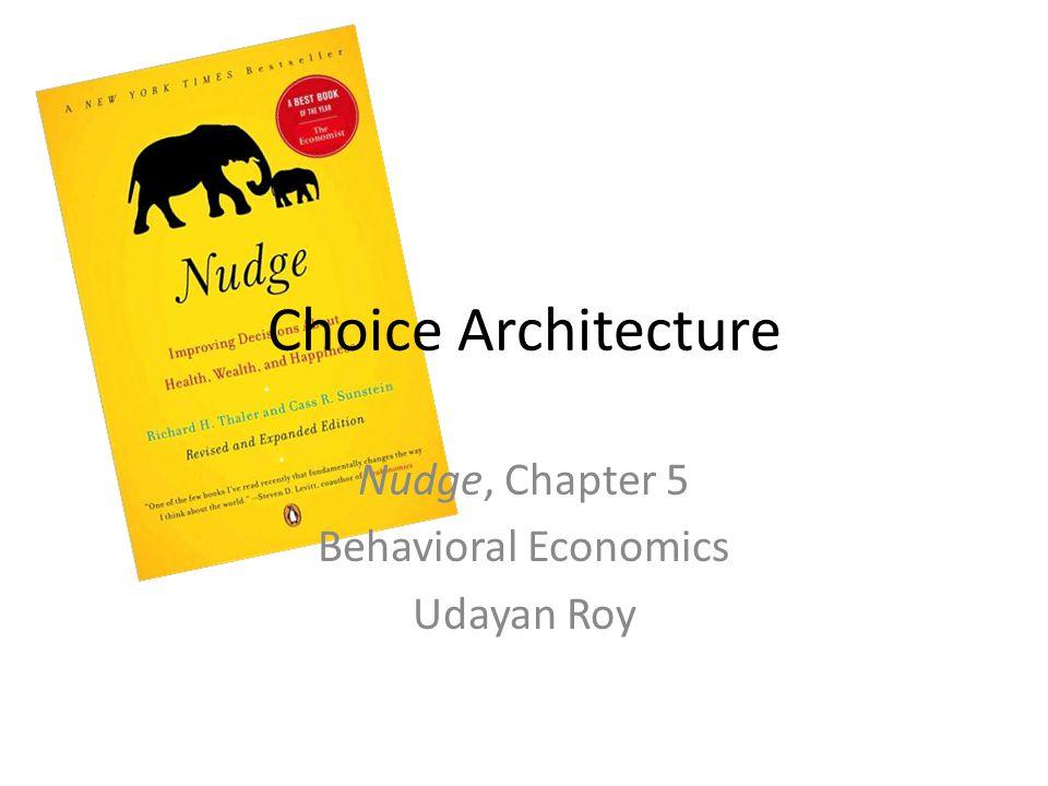 Default Choice or Mandated Choice.