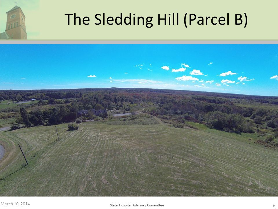 March 10, 2014 6 The Sledding Hill (Parcel B)