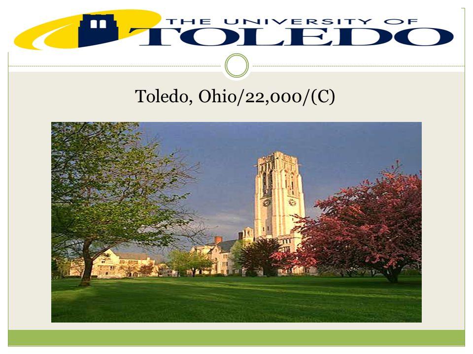 Toledo, Ohio/22,000/(C)
