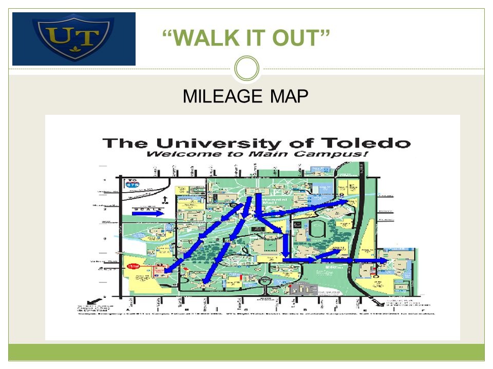 WALK IT OUT MILEAGE MAP