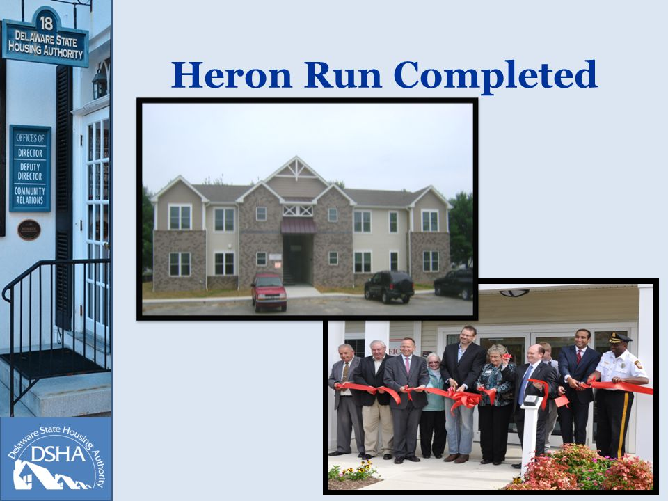 Heron Run Completed