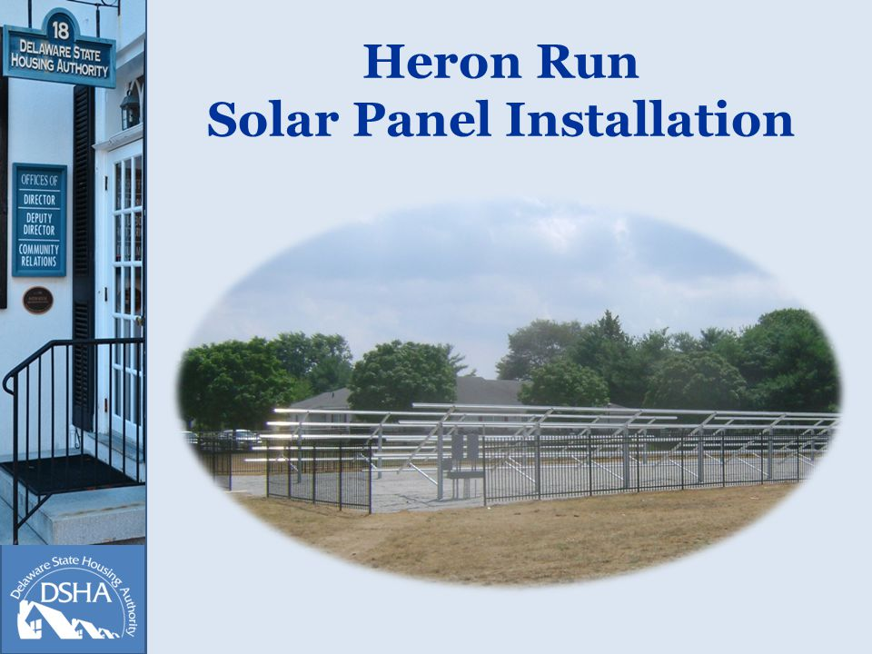 Heron Run Solar Panel Installation