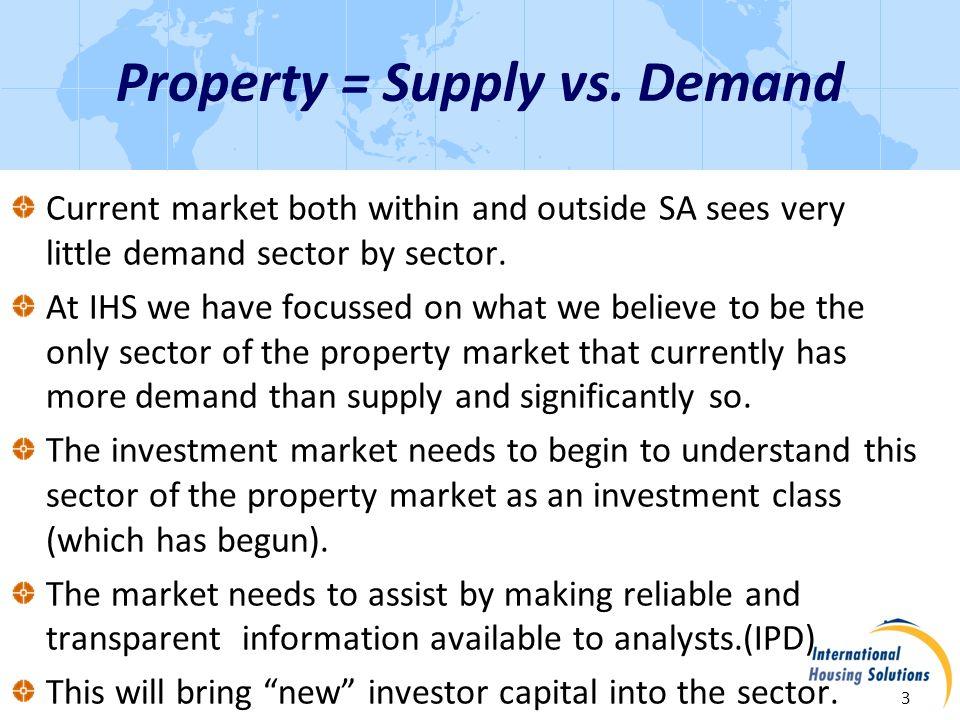 Property = Supply vs.