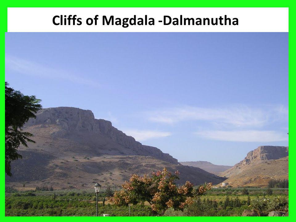 Cliffs of Magdala -Dalmanutha 14