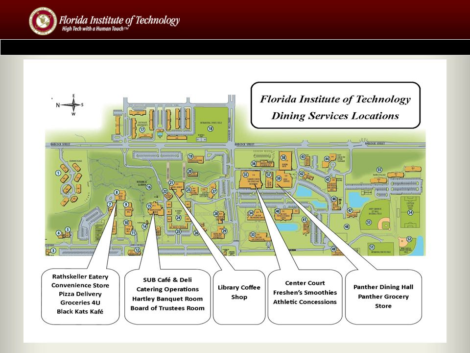 Campus Services Services we provide: Housing Residence Life ID Card Services Meal Plan Administration Health Insurance Waivers / Enrollment