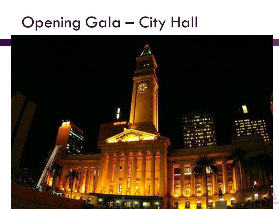 Opening Gala – City Hall