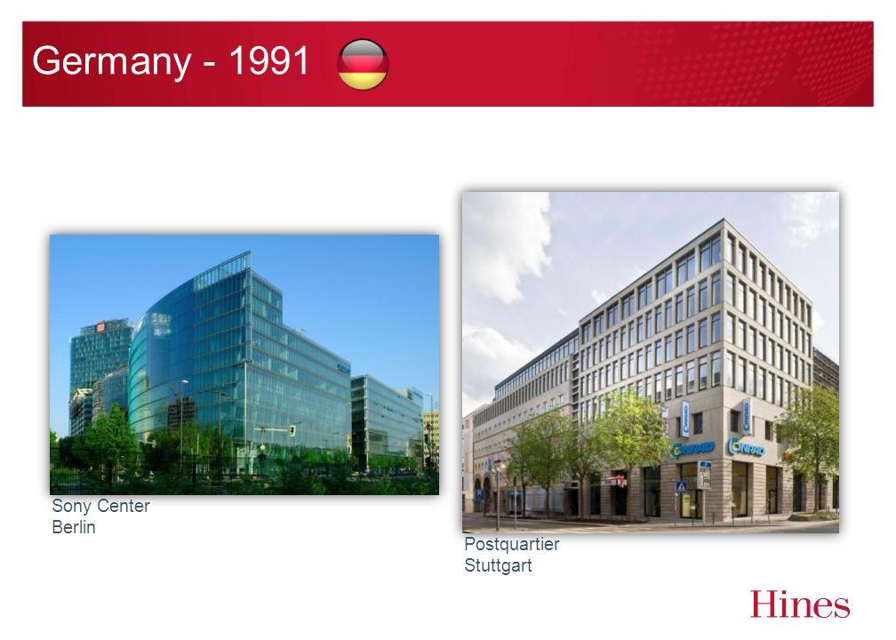 Germany - 1991 Sony Center Berlin Postquartier Stuttgart