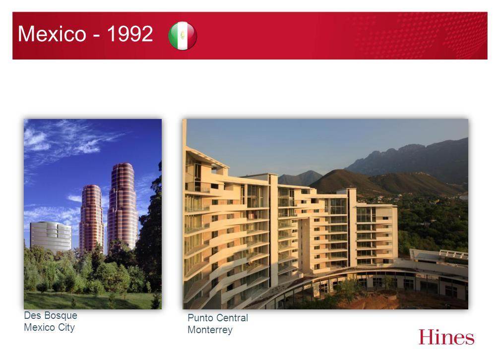 Mexico - 1992 Des Bosque Mexico City Punto Central Monterrey