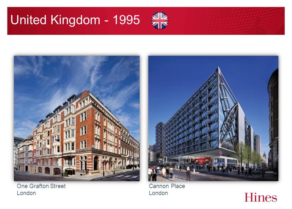 United Kingdom - 1995 One Grafton Street London Cannon Place London